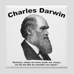 Darwin: Animals Tile Coaster