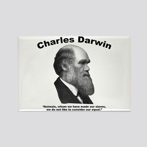 Darwin: Animals Rectangle Magnet