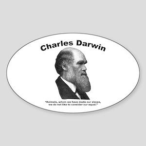 Darwin: Animals Sticker (Oval)
