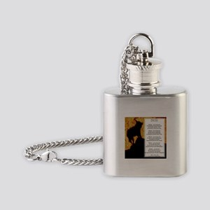 Whisper's Howl Flask Necklace