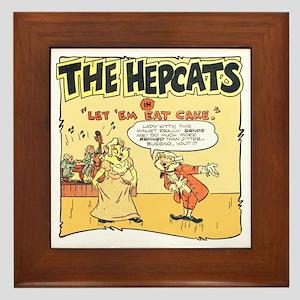 The Hepcats: Let 'Em Eat Cake Framed Tile