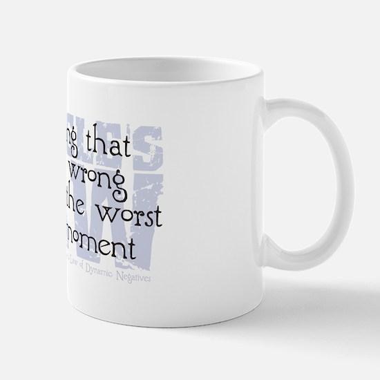 Finagle's Law Mug