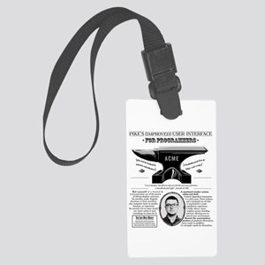 Acme Pike Ad B&w Large Luggage Tag