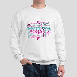 Yoga Inspiration Sweatshirt