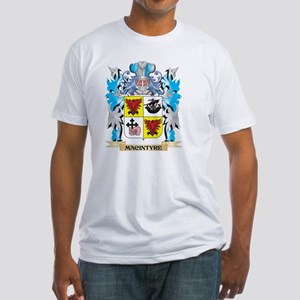 Macintyre Coat of Arms - Family Cre Fitted T-Shirt