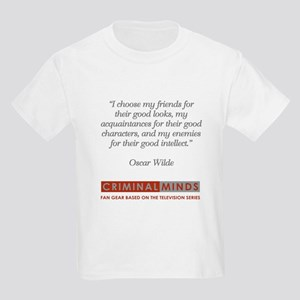 OSCAR WILDE QUOTE Kids Light T-Shirt