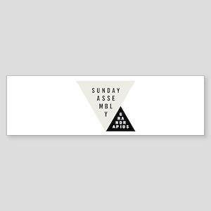 SAGR Gray and Black 01 Bumper Sticker
