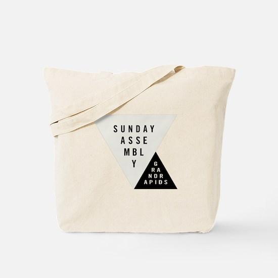 SAGR Gray and Black 01 Tote Bag