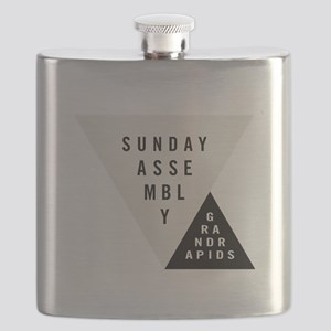 SAGR Gray and Black 01 Flask