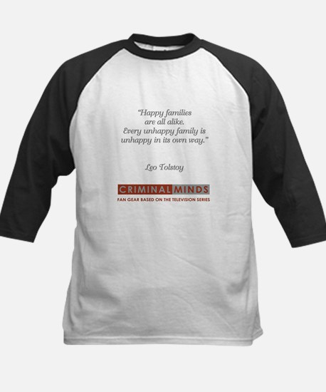 LEO TOLSTOY QUOTE Kids Baseball Jersey