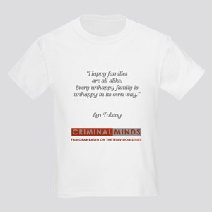 LEO TOLSTOY QUOTE Kids Light T-Shirt