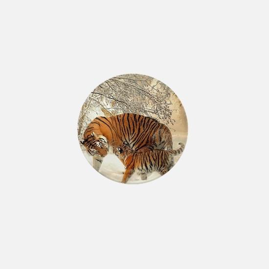 Tiger_2015_0126 Mini Button