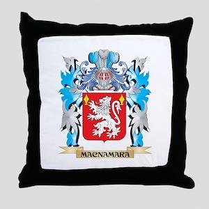 Macnamara Coat of Arms - Family Crest Throw Pillow