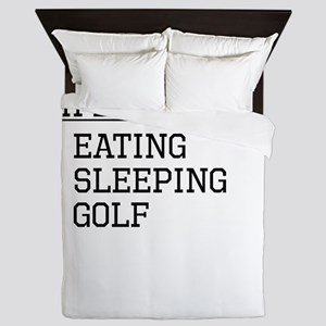 Life Is Simple: Golf Queen Duvet
