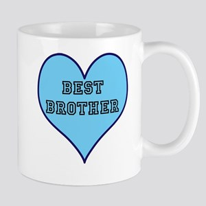 Best Brother Heart Mugs