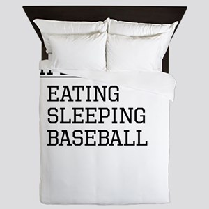 Life Is Simple: Baseball Queen Duvet