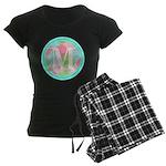 Personalizable Monogram Teal Pink Pajamas