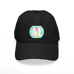 Personalizable Monogram Teal Pink Baseball Hat