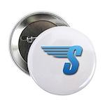 """Speedy S-Logo 2.25"""" Button (100 Pack)"""