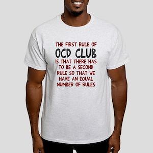 First rule of OCD Club Light T-Shirt
