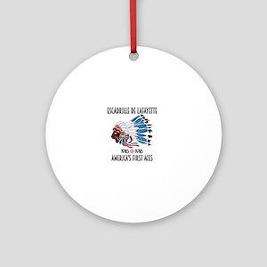 Lafayette Escadrille Round Ornament