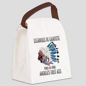 Lafayette Escadrille Canvas Lunch Bag