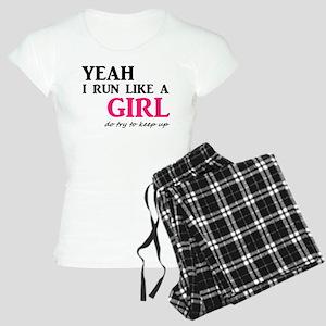 Run Like A Girl Women's Light Pajamas