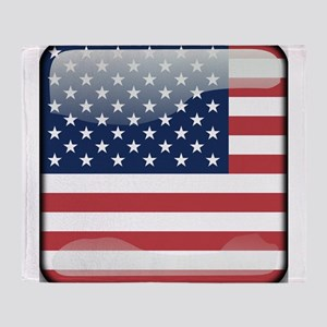 Flag of the United States of America Throw Blanket