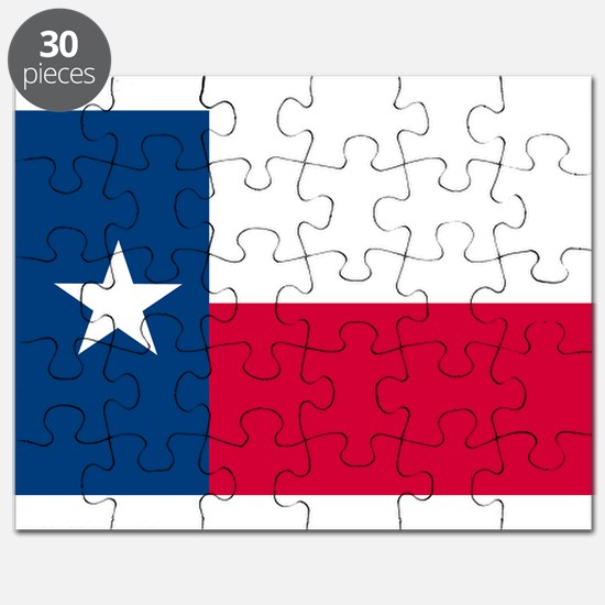 Texas State Flag Puzzle