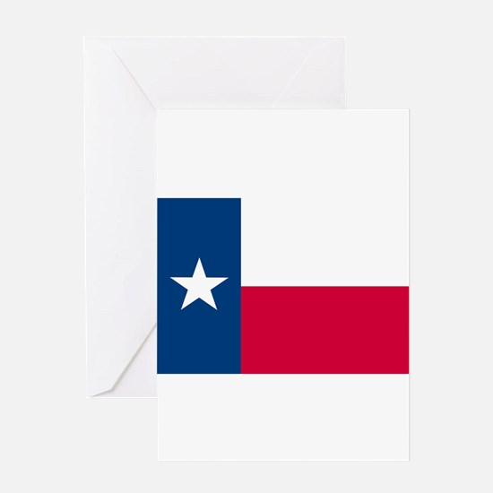 Texas State Flag Greeting Cards