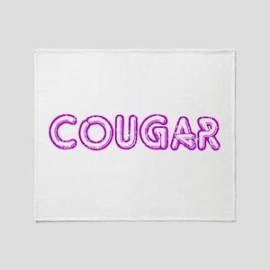 Cougar Throw Blanket