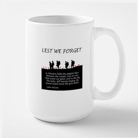 WWI Remembrance Large Mug