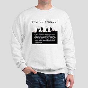 WWI Remembrance Sweatshirt