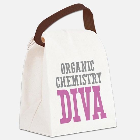 Organic Chemistry DIVA Canvas Lunch Bag