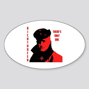 Richthofen Sticker (Oval)