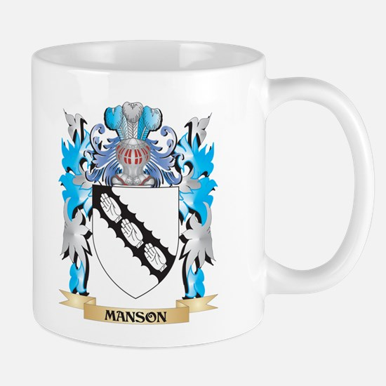 Manson Coat of Arms - Family Crest Mugs