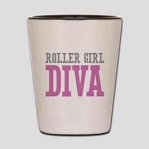 Roller Girl DIVA Shot Glass