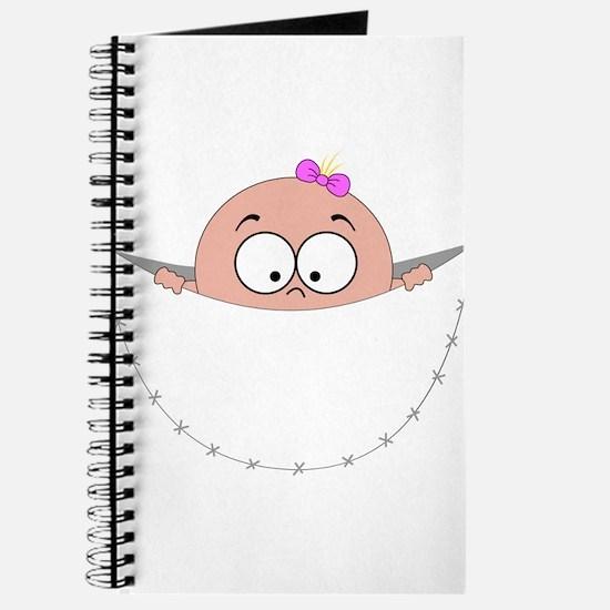 peek a boo baby girl pregnant pregnancy sc Journal