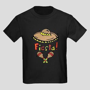 Mexico Fiesta Kids Dark T-Shirt