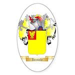 Iacovolo Sticker (Oval 50 pk)