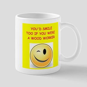 wood worker Mugs