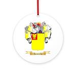 Iacoviello Ornament (Round)