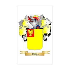 Iacopo Sticker (Rectangle 10 pk)