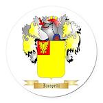 Iacopetti Round Car Magnet