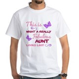 Cool aunt Mens Classic White T-Shirts