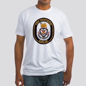 USS STETHEM Fitted T-Shirt