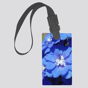forget me nots Large Luggage Tag