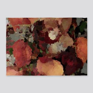 Autumn Mosaics 5'x7'area Rug