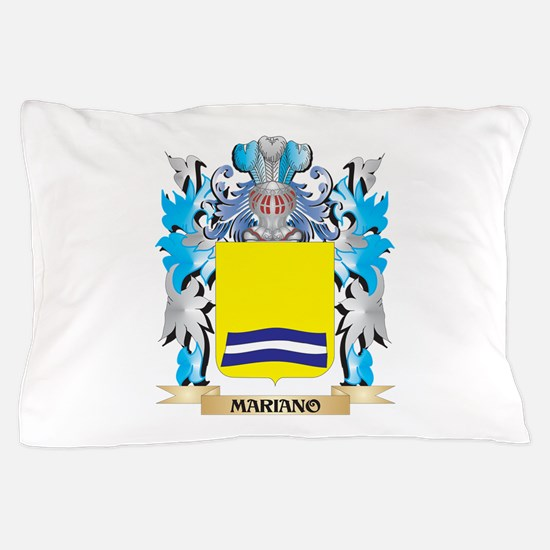 Mariano Coat of Arms - Family Crest Pillow Case