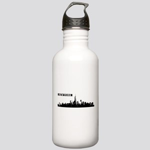 Lower Manhattan, New Y Stainless Water Bottle 1.0L
